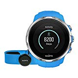 Suunto Spartan Sport HR - Multisport GPS Watch, 10 h Battery, Water resistant, Heart Rate Monitor + FC Belt, Color Touch Screen, Blue, SS022652000