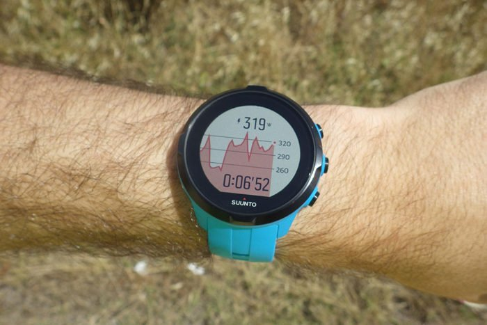 Suunto Spartan Sport - Power graphics