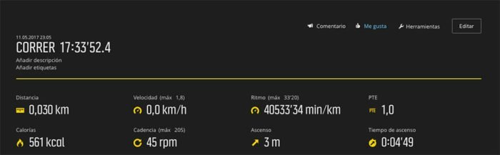 Suunto Spartan Ultra - Battery life