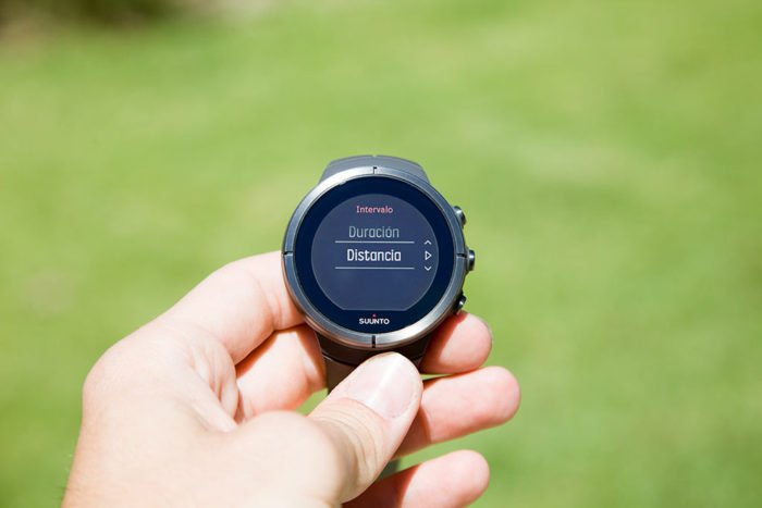 Suunto Spartan - Set interval