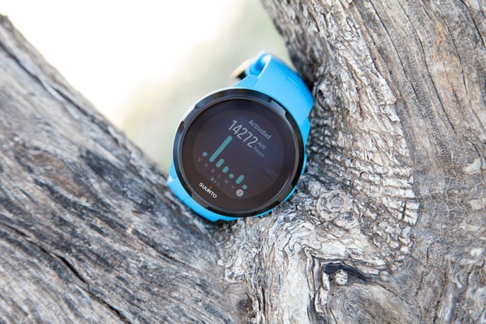 Suunto Spartan - 7-day activity