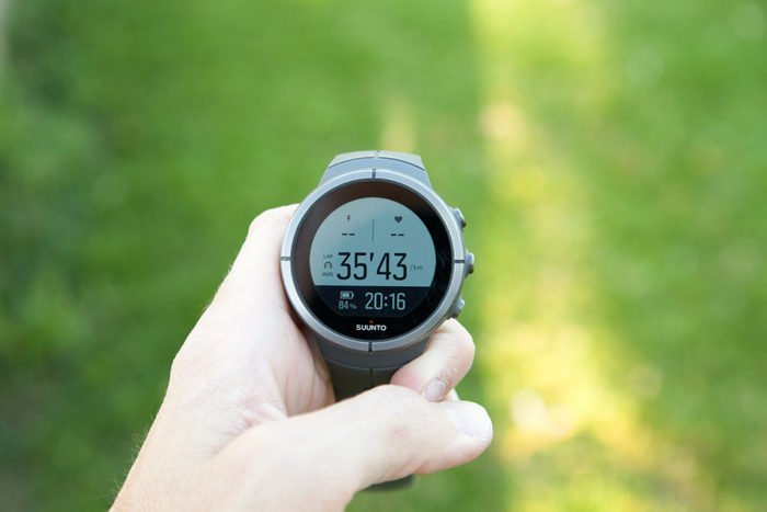 Suunto Spartan - Time and Battery