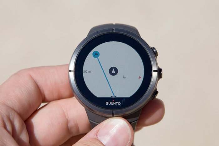 Suunto Spartan Ultra - Route and POI