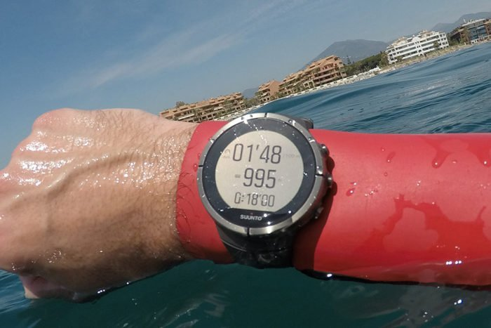 Suunto Spartan Ultra - Open water swimming