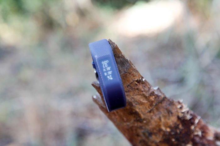 Garmin Vivosmart 3 - Widget tiempo
