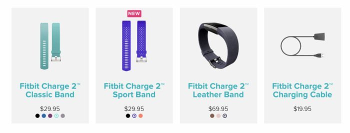 Fitbit Charge 2 - Accesorios