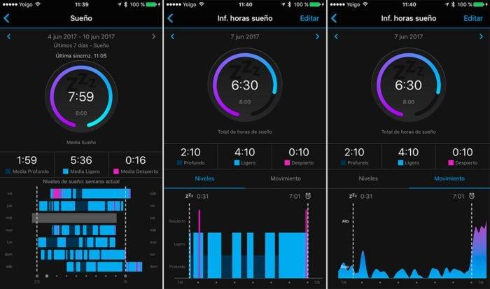 Garmin Vivosmart 3 - Monitor de sueño