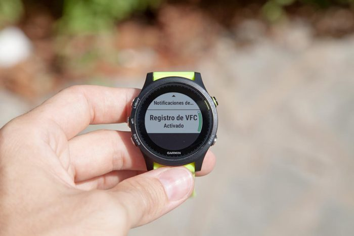 Garmin 935 - Registro HRV