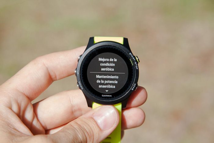 Garmin Forerunner 935 - Training Effect