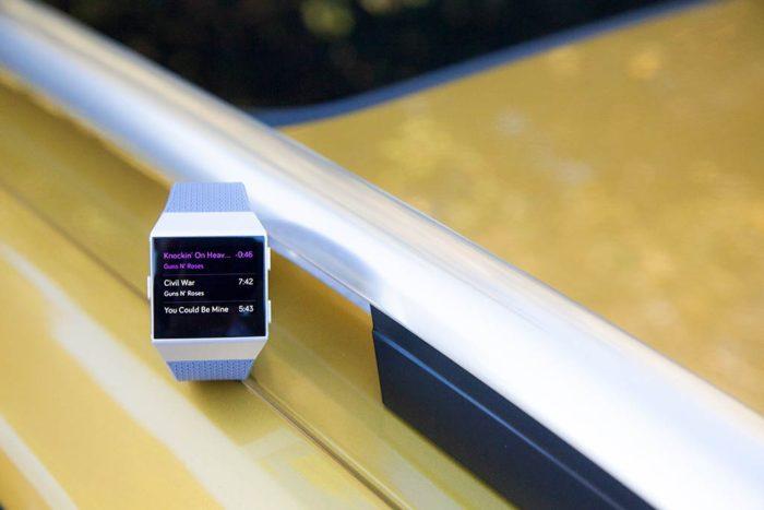 Fitbit Ionic - Reproducción de música