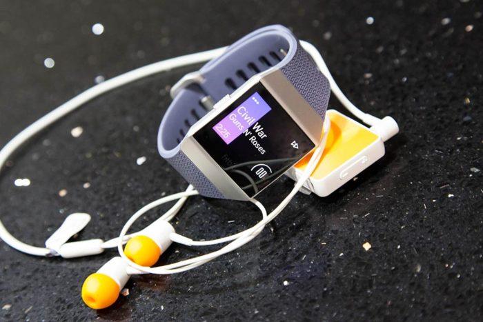 Fitbit Ionic - Reproducción de músicaFitbit Ionic - Reproducción de música