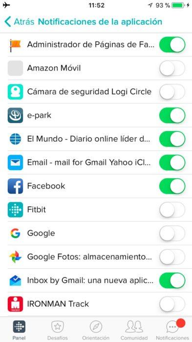iOS Fitbit App