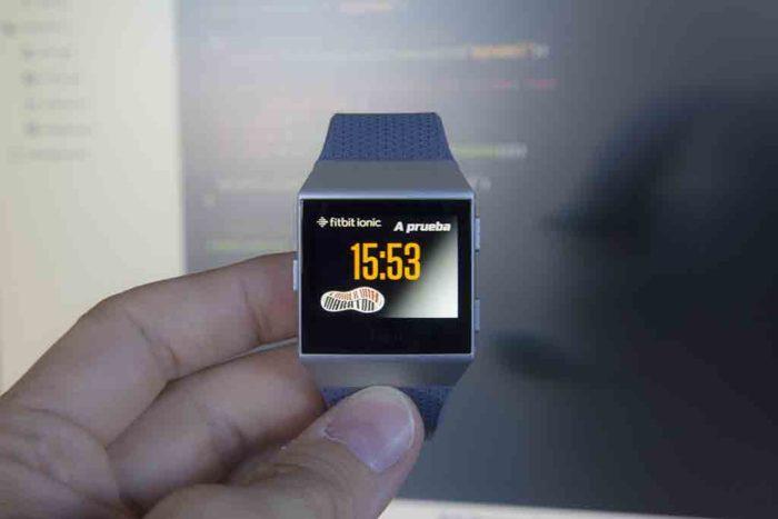 Fitbit Ionic - Customize App