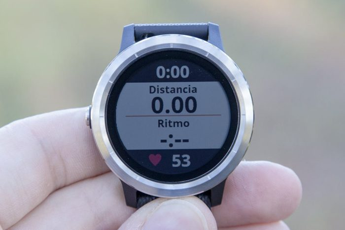 Garmin Vivoactive 3 - Data Display