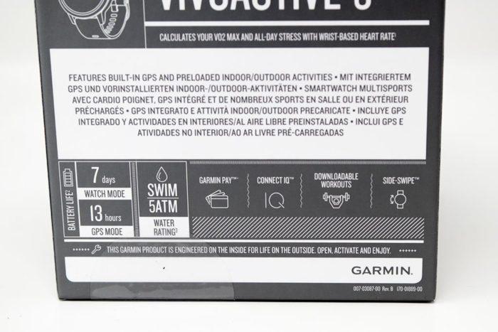 Garmin Vivoactive 3 - Unboxing