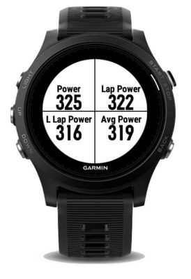 Garmin Combo Running Power
