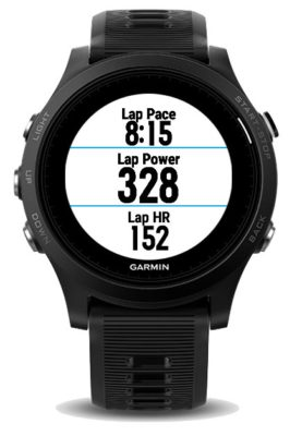 Garmin Lap Running Power