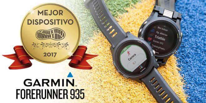 Garmin Forerunner 935 - Premio mejor dispositivo 2017