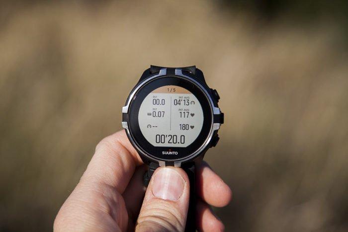 Suunto Spartan Sport Wrist HR Baro - Pantalla intervalos