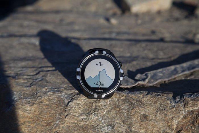 Suunto Spartan Sport Wrist HR Baro - Perfil altitud