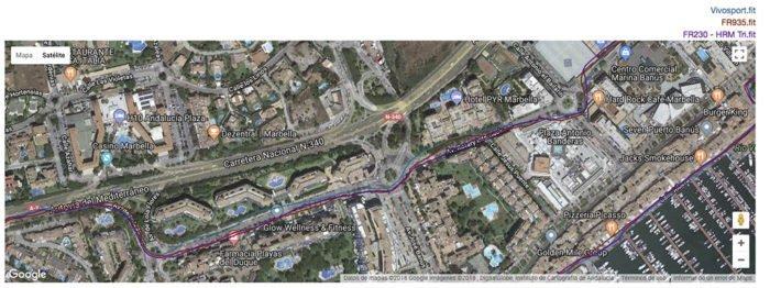 Garmin Vivosport - GPS Analysis