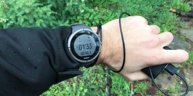 Cargar reloj GPS mientras corro
