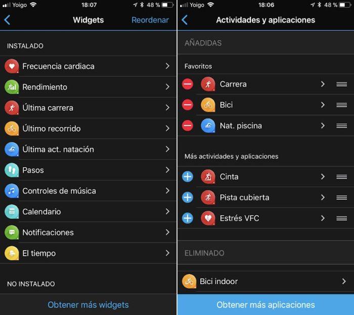 Garmin Connect - Aplicaciones y widgets