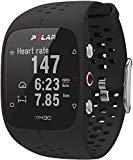 Polar M430 Unisex Adult GPS and Wrist Pulse Training Watch, Black, M-L