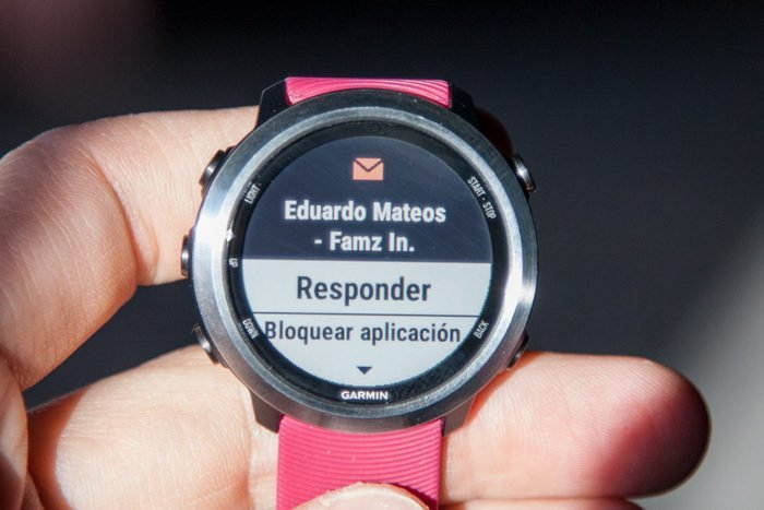 Garmin Forerunner 645 Music - Reply to messages