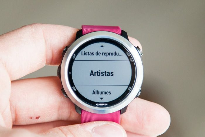 Garmin Forerunner 645 Music - Music Selection