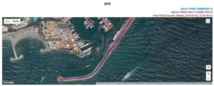 GPS Garmin Forerunner 645M