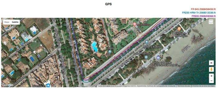 Garmin Forerunner 645M GPS