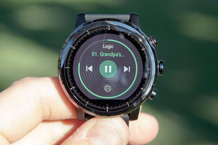 Amazfit Stratos - Music playback