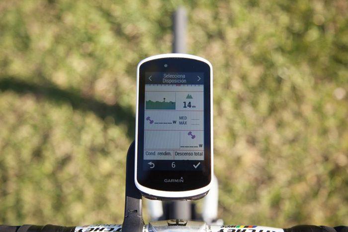 Garmin Edge 1030 - Configure Displays
