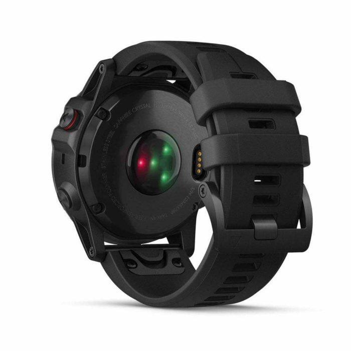 Garmin Fenix 5X Plus - Sensor óptico oximetría de pulso