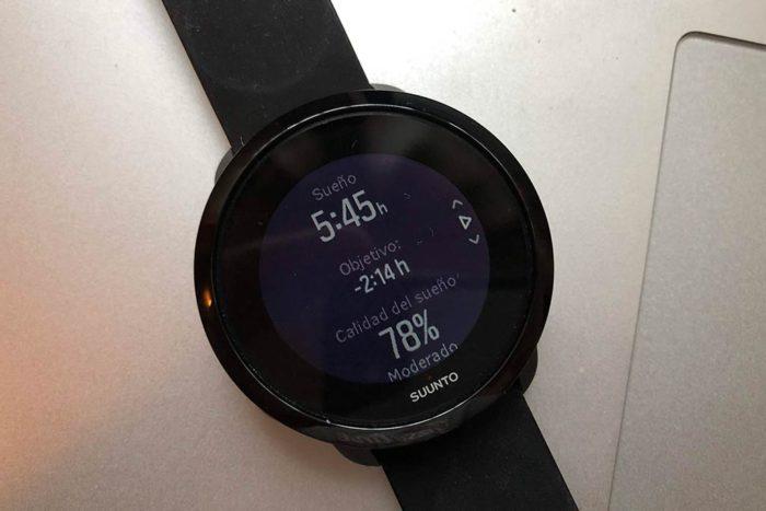 Suunto 3 Fitness - Datos de sueño