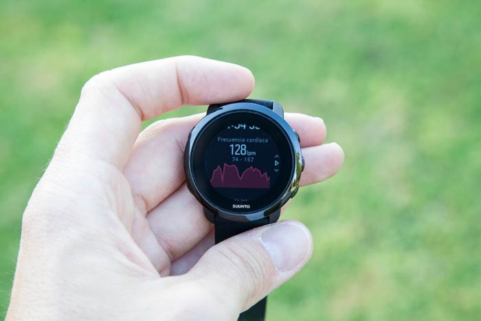 Suunto 3 Fitness - End of Exercise