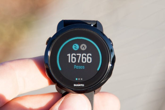 Suunto 3 Fitness - Steps in the day