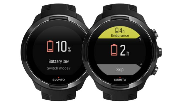 Suunto 9 - Battery mode recommendation