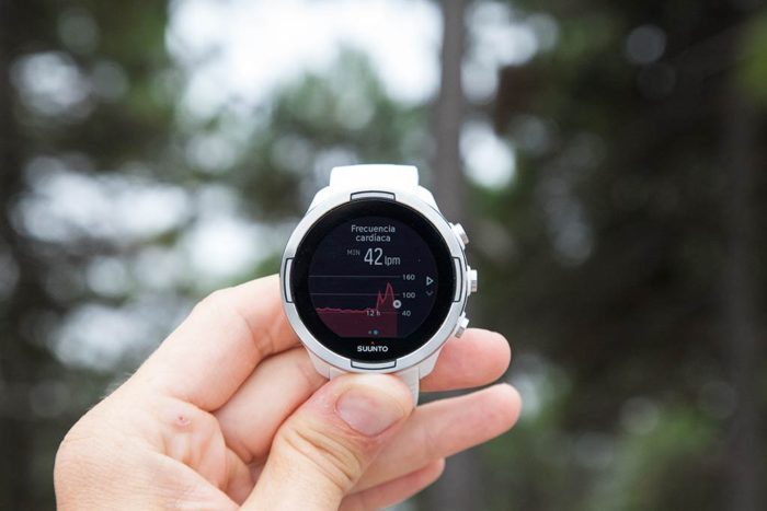 Suunto 9 - Heart rate 12 hours