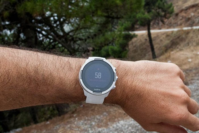 Suunto 9 - Real-time heart rate