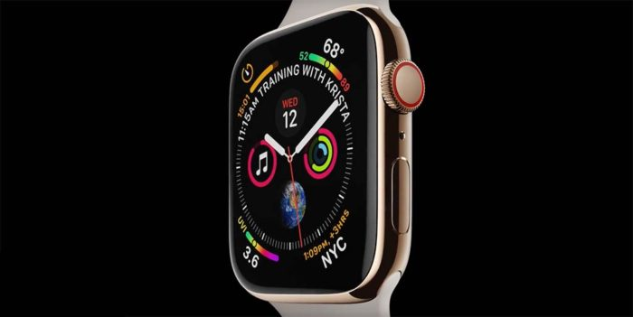 Apple Watch Series 4 - Pantalla
