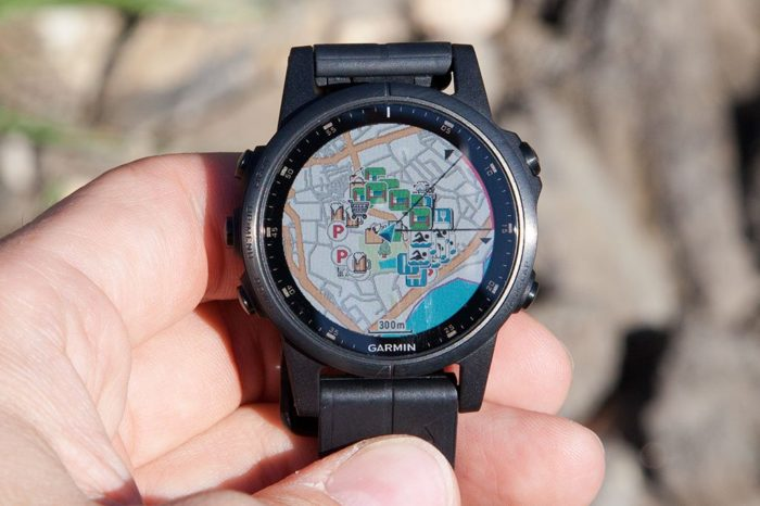Garmin Fenix 5 Plus - Around Me