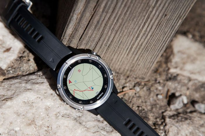 Garmin Fenix 5 Plus - Navigation Map