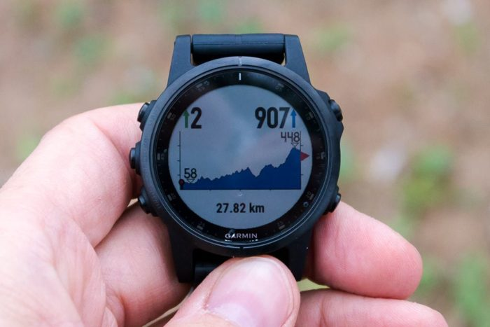 Garmin Fenix 5 Plus - ClimbPro