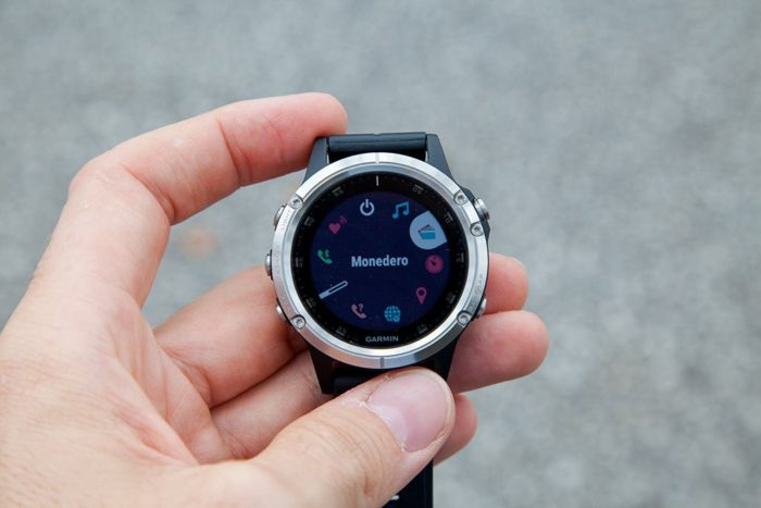 Garmin Fenix 5 Plus - Monedero