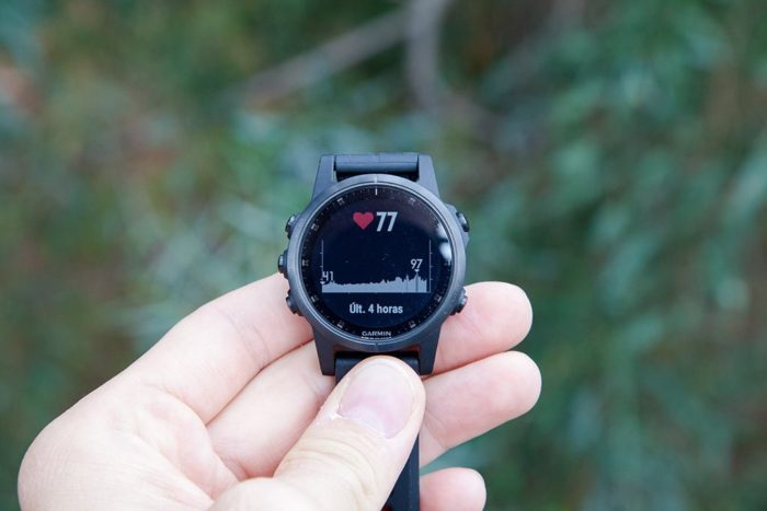 Garmin Fenix 5S Plus - Widget FC