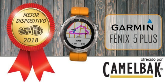 Garmin Fenix 5 Plus - Mejor dispositivo 2018