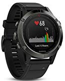 Garmin Fenix 5 Multi Sport GPS Clock with Navigation Exterior and Heart Rate Based Wristwatch, 010 - 01685 - 00 (Certified and General Clutch)