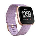 Fitbit Versa  - Reloj Deportivo Smartwatch - Edición Especial -  Unisex Adulto, Morado (Lavanda), Talla Única